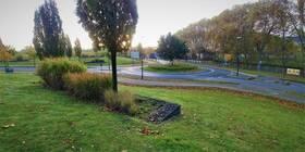 private Grünanlage an der Arenbergstraße